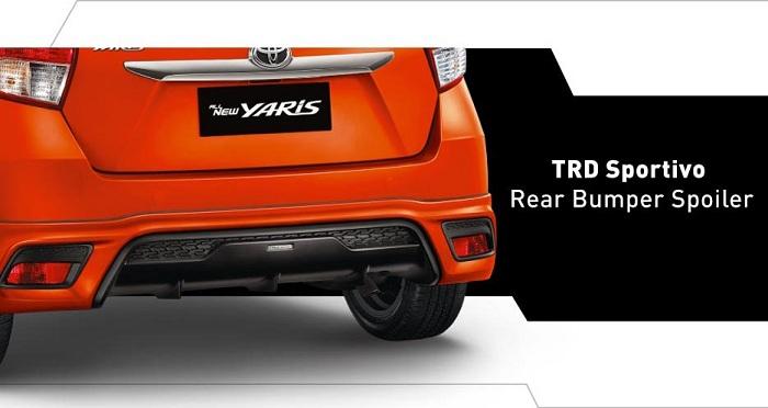Harga toyota yaris baru dan spesifikasi toyota mobil tangerang for Exterior accessories toyota yaris