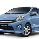Toyota Agya Biru Muda
