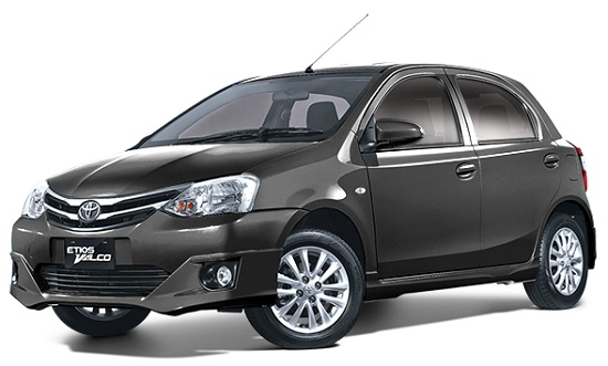 Toyota Etios Valco Abu-Abu