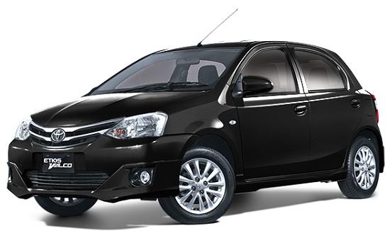 Toyota Etios Valco Hitam