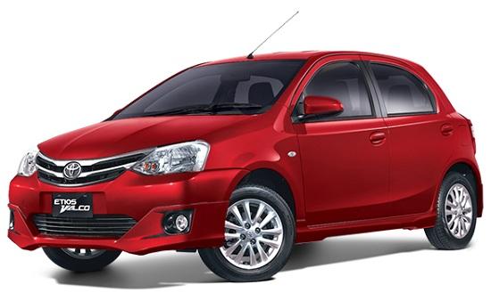Toyota Etios Valco Merah