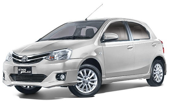 Toyota Etios Valco Silver