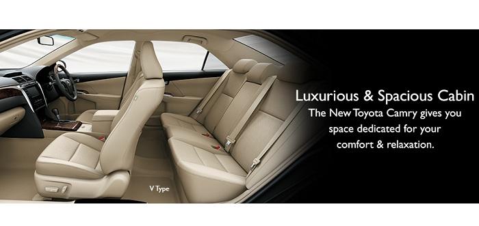 Interior Toyota Camry 1