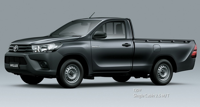 Eksterior Toyota All New Hilux S Cab 1