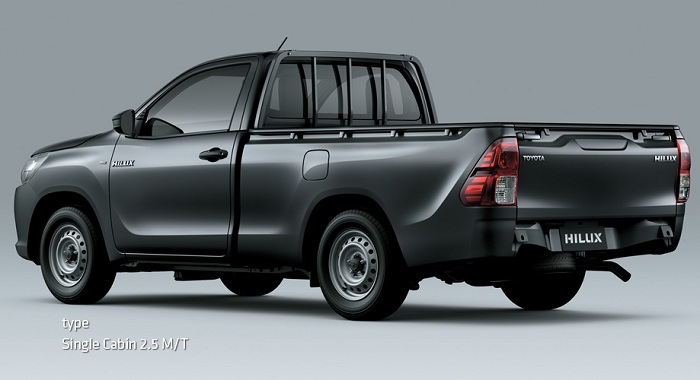 Eksterior Toyota All New Hilux S Cab 2