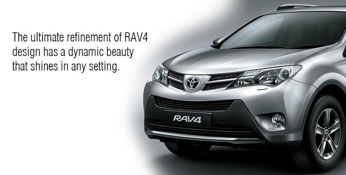 Eksterior Toyota RAV4 1