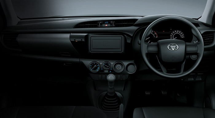 Interior Toyota All New Hilux S Cab