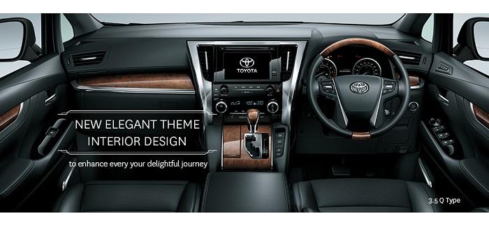 Interior Toyota Alphard 2