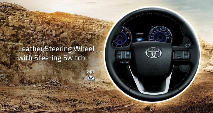 Interior Toyota Hilux D Cab 2
