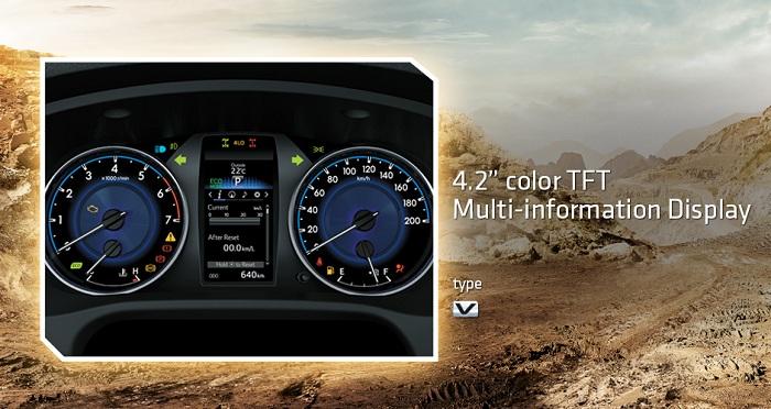 Interior Toyota Hilux D Cab 6