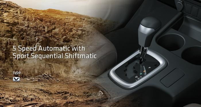 Interior Toyota Hilux D Cab 7