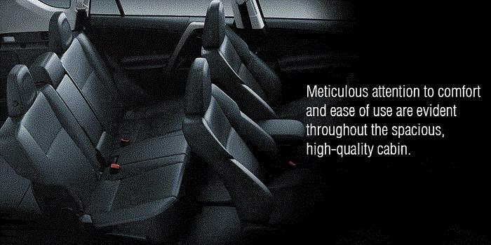 Interior Toyota RAV4 2