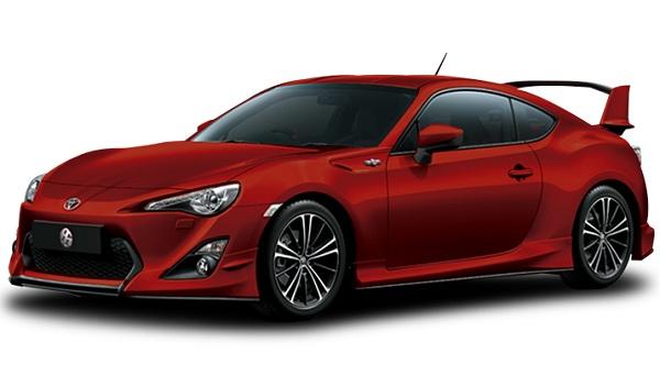 Toyota 86 Merah