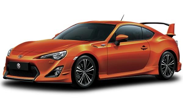 Toyota 86 Oranye