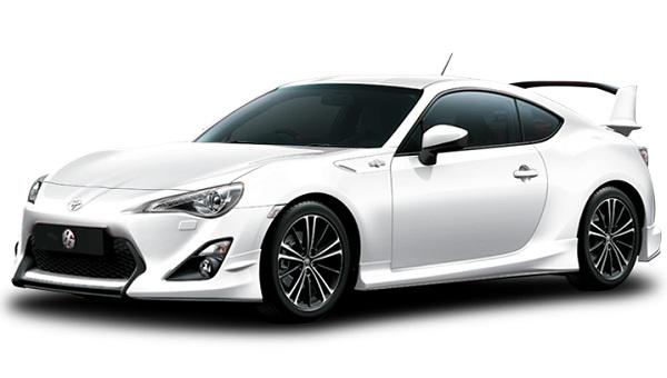 Toyota 86 Putih