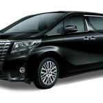 Toyota Alphard Hitam