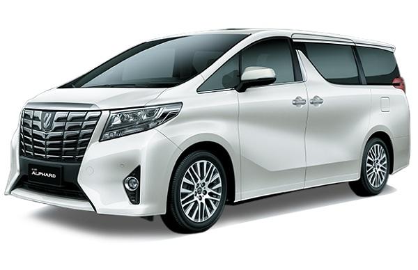 Toyota Alphard Putih Crystal