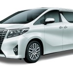 Toyota Alphard Putih Pearl