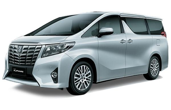 Toyota Alphard Silver