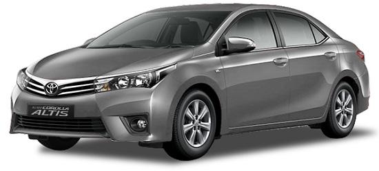 Toyota Corolla Altis Abu-Abu