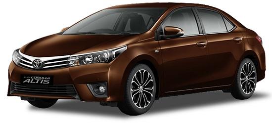 Toyota Corolla Altis Coklat