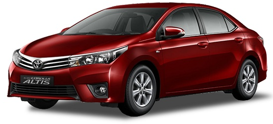 Toyota Corolla Altis Merah