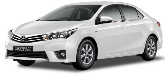 Toyota Corolla Altis Putih Pearl