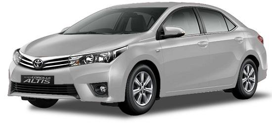 Toyota Corolla Altis Silver