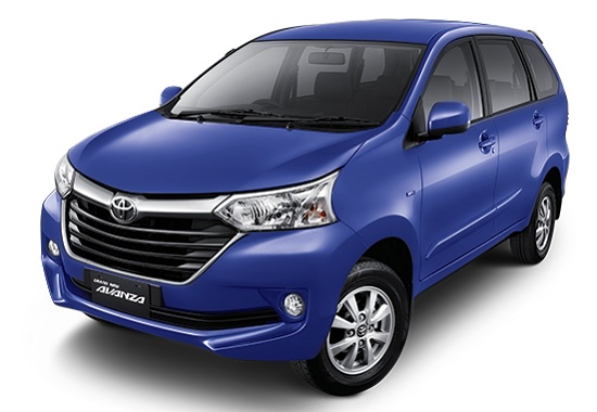 Toyota Grand New Avanza Biru