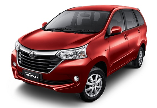 Toyota Grand New Avanza Merah