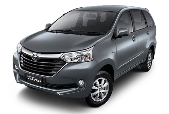 Toyota Grand New Avanza Silver