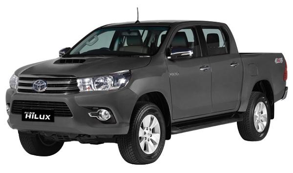 Toyota Hilux D Cab Abu-Abu