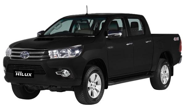 Toyota Hilux D Cab Hitam