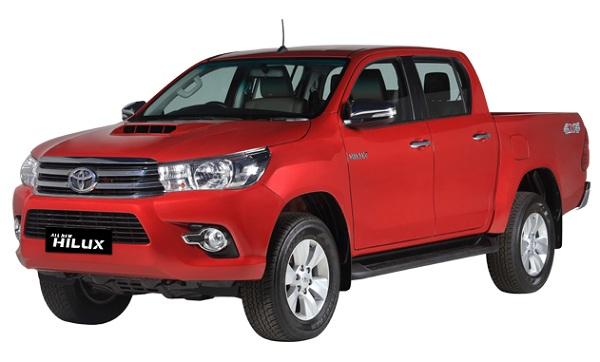 Toyota Hilux D Cab Merah