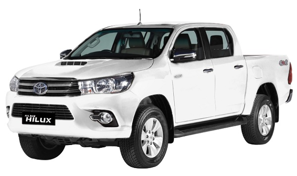Toyota Hilux D Cab Putih