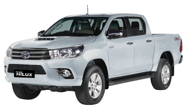 Toyota Hilux D Cab Silver