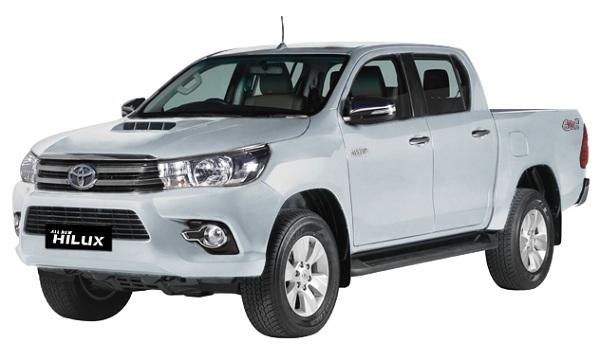 Toyota Hilux D Cab Silver