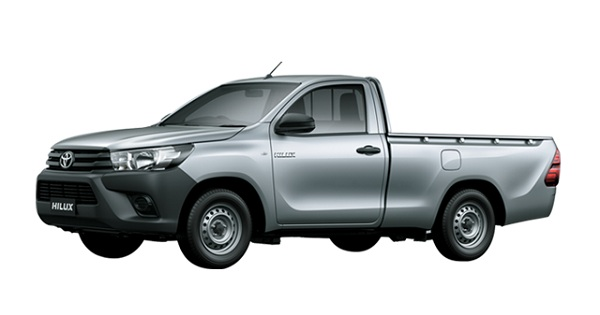 Toyota Hilux S Cab Silver