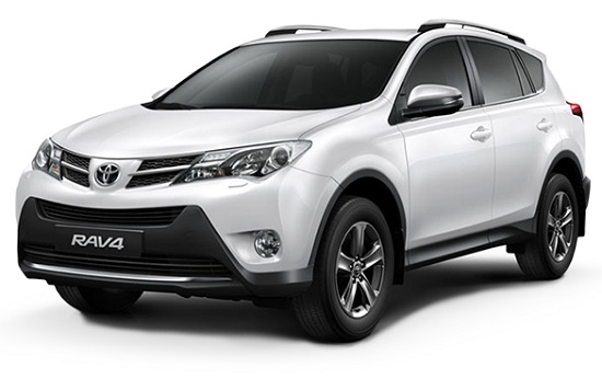 Toyota Rav4 Putih
