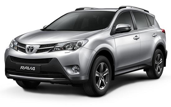 Toyota Rav4 Silver