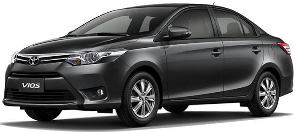 Toyota Vios Abu-Abu
