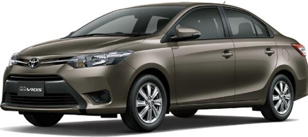Toyota Vios Coklat