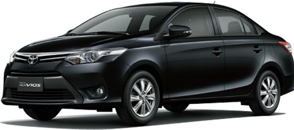 Toyota Vios Hitam