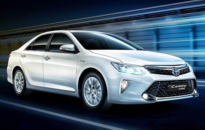 Eksterior Toyota Camry Hybrid