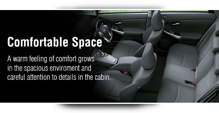 Interior Toyota Prius 2