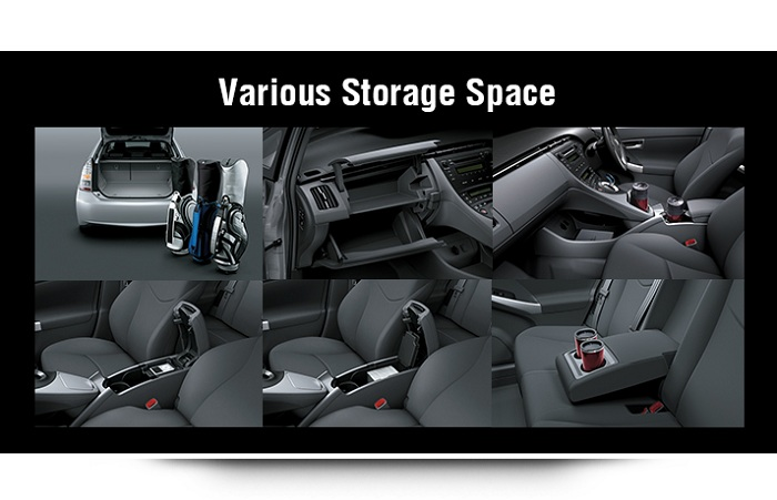 Interior Toyota Prius 3