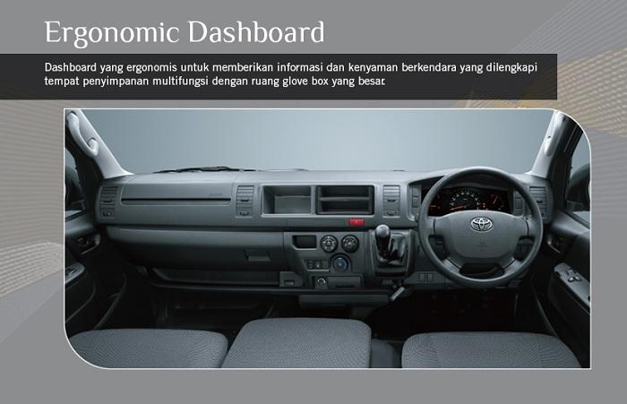 Interior Toyota Hiace