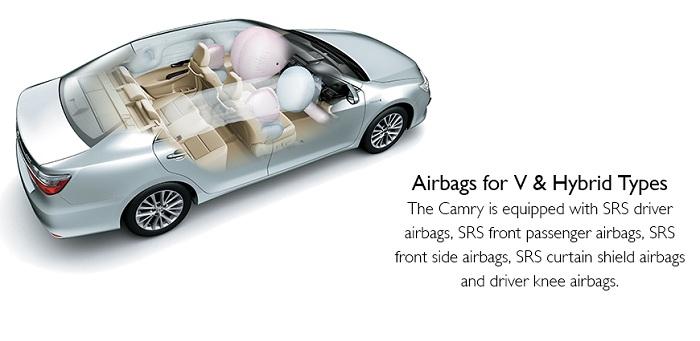 Safety Toyota Camry Hybrid