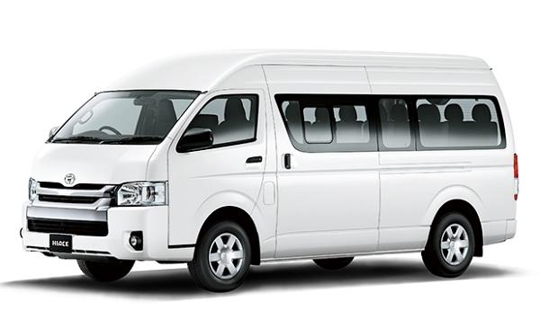 Toyota Hiace Putih