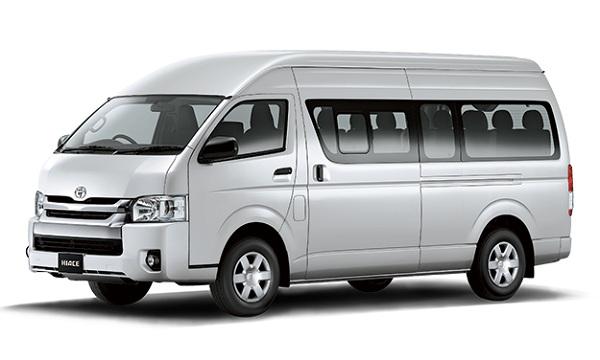 Toyota Hiace Silver